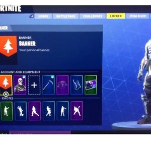 PIMPED OUT FORTNITE ACCOUNT WITH RARE SKINS*